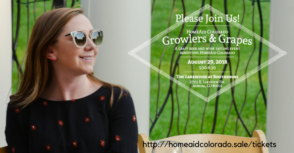 HomeAid Colorado Event: Growlers & Grapes